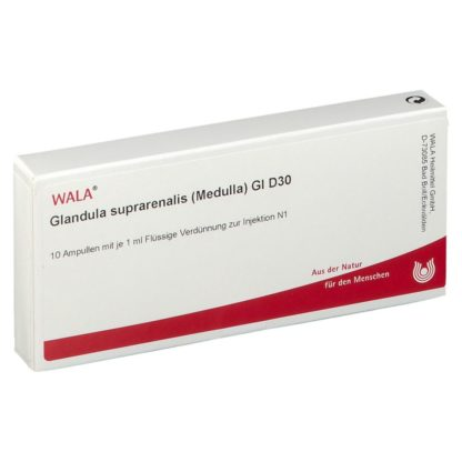 Glandula suprarenalis Medulla Gl D30 Ampullen 10X1 ml